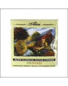 Juego Cuerdas Guitarra Clasica A106 Alice