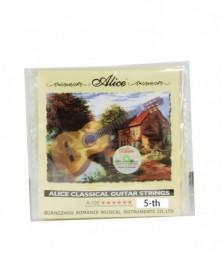 Pack 10 Cuerdas Guitarra Clasica Nº5 A106H-5 Alice