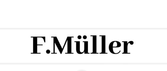 F. Müller